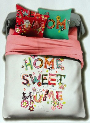 Amk Home Decor Cotton Printed King sized Double Bedsheet