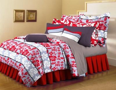 Arto Cotton Floral Double Bedsheet