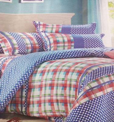 AJ Home Polycotton Geometric Double Bedsheet