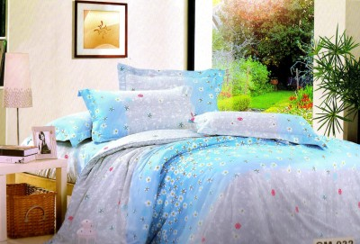 Welhouse India Polycotton Abstract Double Bedsheet