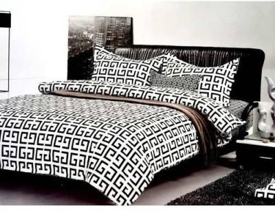 Tulaasi Cotton Abstract Double Bedsheet