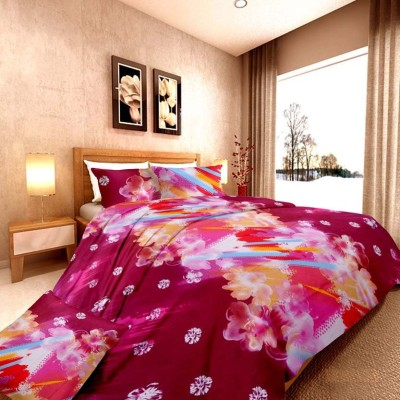 Damask Fashion Cotton Floral Double Bedsheet