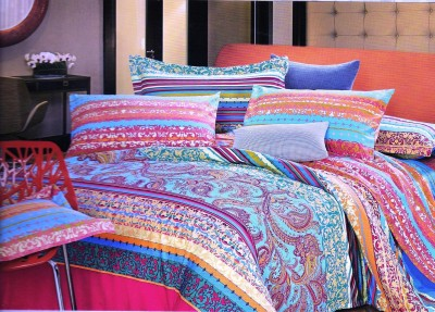 Sanaya Cotton Floral Queen sized Double Bedsheet