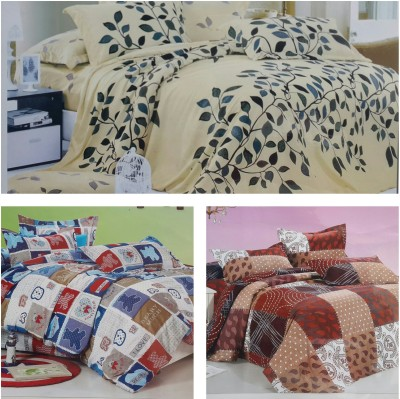 Life Like Cotton Checkered Double Bedsheet