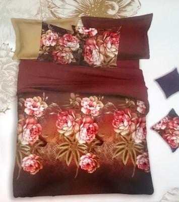 Rangoli Polycotton Abstract Double Bedsheet