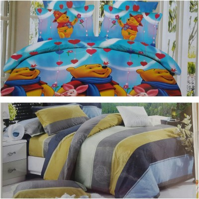 Life Like Silk Cartoon Double Bedsheet