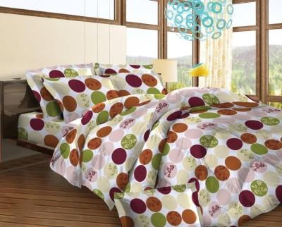 Bombay Dyeing Cotton Polka Double Bedsheet