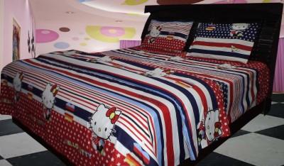 Riyasat Polycotton Printed King sized Double Bedsheet