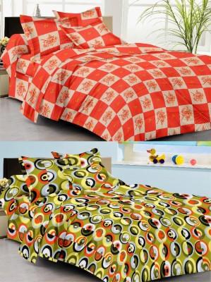 Sudharaj Cotton Printed Double Bedsheet