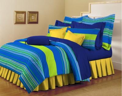 Arto Cotton Striped Double Bedsheet