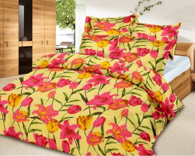 Urban Style Cotton Floral Double Bedsheet