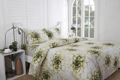 Inhouse By Maspar Cotton Printed Double Bedsheet