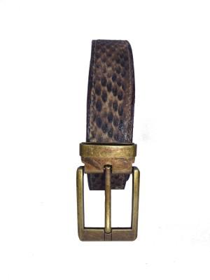 Revo Men Formal Brown Synthetic Belt