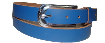 Foonty Girls Casual Blue Genuine Leather Belt