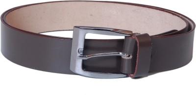 Jollify Men Brown Genuine Leather Belt