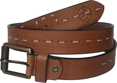 Czar Enterprises Boys Casual, Party Brown Genuine Leather Belt