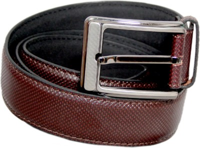 Lee Italian Men Formal Brown Genuine Leather Belt