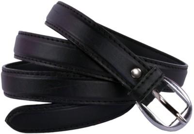 Modishera Women Party, Casual Black Artificial Leather Belt