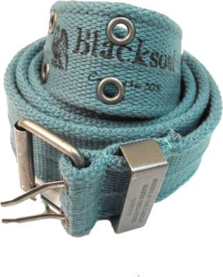 Blacksoul Men Casual Green Synthetic Belt