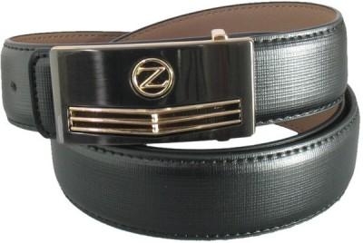 Lion Heart Men Casual Black Artificial Leather Belt