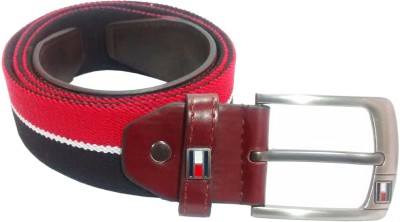 Mars And Venus Boys, Men Casual Multicolor Canvas, Genuine Leather Belt