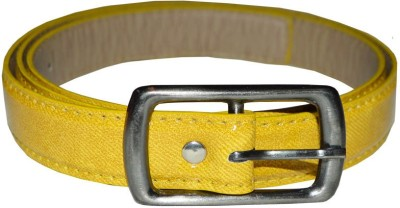 Kitnboodle Women Casual Yellow Artificial Leather Belt