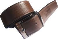 Generic Men Formal Brown Artificial Leather Reversible Belt