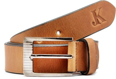 Junckers Men, Boys Formal, Casual, Party, Evening Brown Genuine Leather Belt