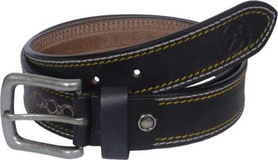 Czar Enterprises Boys Casual Black Genuine Leather Belt