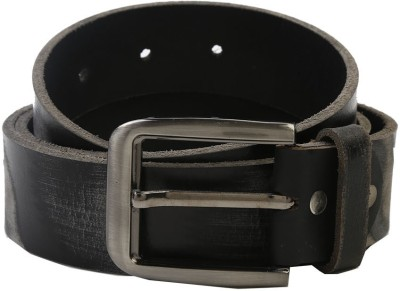 Nypc Men Casual Black Genuine Leather Belt