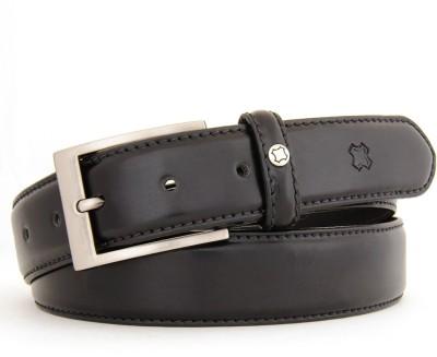 Hidea Men Black, Brown Genuine Leather Belt