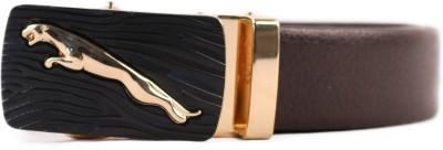 Heaven Deal Men Formal Brown Artificial Leather Belt