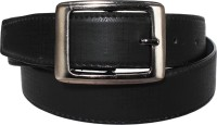 Klaska Men Casual Black Artificial Leather Belt best price on Flipkart @ Rs. 189
