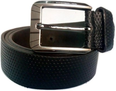 Coblivi Men Formal, Party Black Genuine Leather Belt