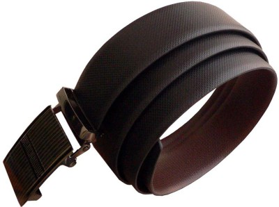 alexise Men Casual Black Synthetic Belt