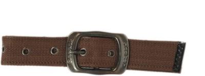 Bs Spy Women Casual Brown Canvas Belt