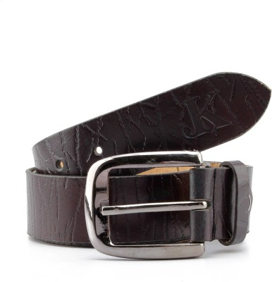 Junckers Men Formal, Casual, Party, Evening Brown Genuine Leather Belt