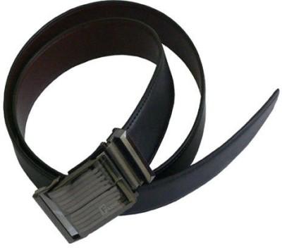 ALEXISE Boys, Men Casual Black Artificial Leather Belt