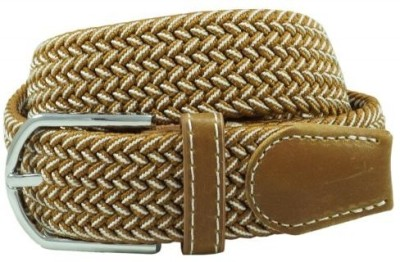 The Tie Hub Men Casual Brown Synthetic Belt