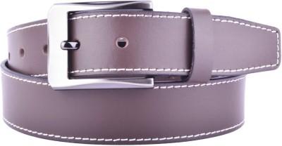 CALLESTO Men Formal Brown Genuine Leather Belt
