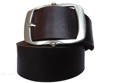 Pranjali Men Casual Brown Genuine Leather Reversible Belt