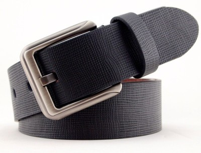 Syborite Boys, Men Casual, Party, Formal Black Genuine Leather Belt
