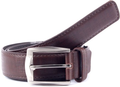 Pacific Gold Men Formal Brown Artificial Leather Belt