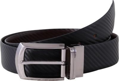 KOLT Men Brown, Black Genuine Leather Reversible Belt