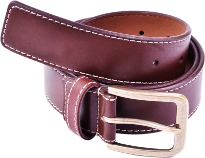 AER LEATHER Boys, Men Casual Brown Synthetic Belt