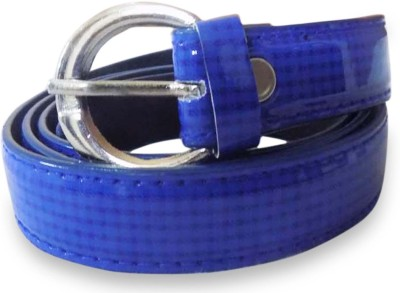Rege Girls Casual Blue Artificial Leather Belt
