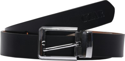 Magson Men, Boys Casual, Evening, Formal, Party Black Genuine Leather Belt