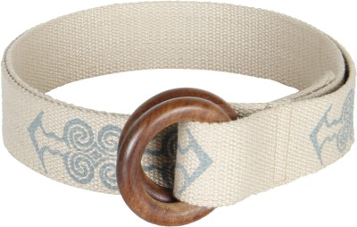 Anekaant Women Casual White Fabric Belt