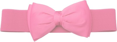 Stylehoops Girls, Women Casual Pink Artificial Leather Belt