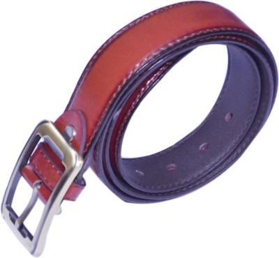 VICTORIA SECRET INDIA Men Tan Artificial Leather Belt